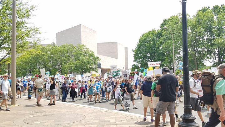Peoples Climate March, April 27, 2017, Washington, D.C.