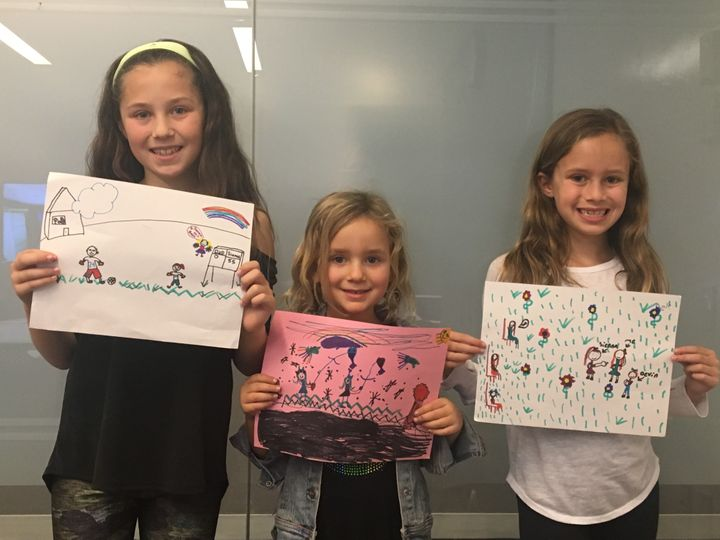 Sisters Sienna, Devin, and Kendall share their incredible drawings.