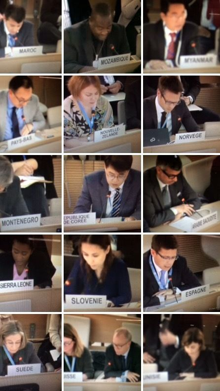 Bahrain's delegation endured a torrid morning at the UPR as more governments lined up to lambast its record.