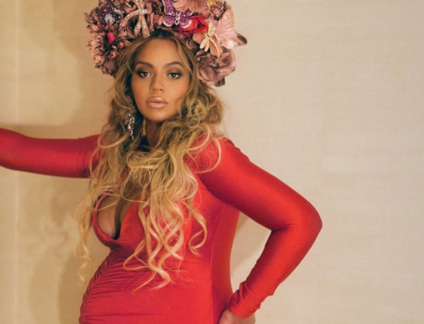 Pregnant Beyoncé, Solange And Kelly Rowland Were Walking Works Of Art On The Red