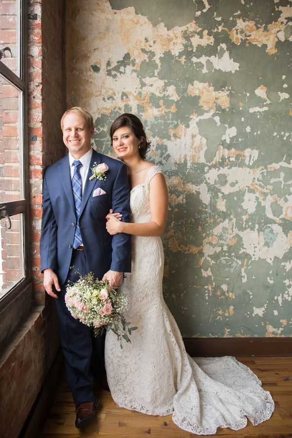 """""""Adam and Brianna were married on April 28 at The Standard in Downtown Knoxville, Tennessee."""" --<i>Suzanne McNeil</i>"""