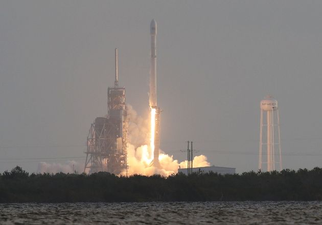 SpaceX Launches 'Spy' Satellite On A Secret Mission For The US