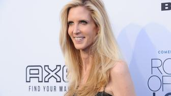 LOS ANGELES, CA - AUGUST 27:  Ann Coulter attends the Comedy Central Roast of Rob Lowe at Sony Studios on August 27, 2016 in Los Angeles, California.  (Photo by Jason LaVeris/FilmMagic)
