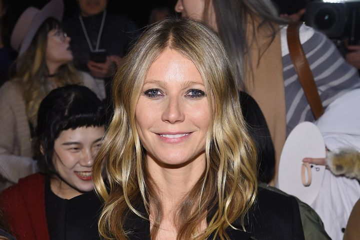 "Gwyneth Paltrow could relate to what the flight attendant wrote -- the actress even wrote a cookbook called ""My Father's Daug"