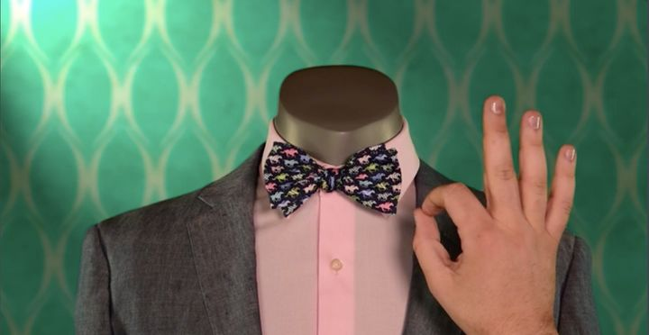 <p>This bow tie is pure perfection.</p>