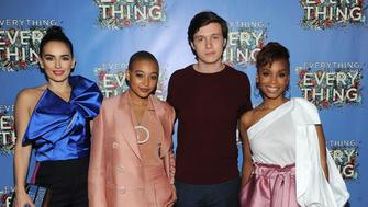 NEW YORK, NY - APRIL 30:  Actors Ana de la Reguera, Amandla Stenberg, Nick Robinson and Anika Noni Rose attend the 'Everything, Everything' New York Screening at The Metrograph on April 30, 2017 in New York City.  (Photo by Brad Barket/Getty Images)