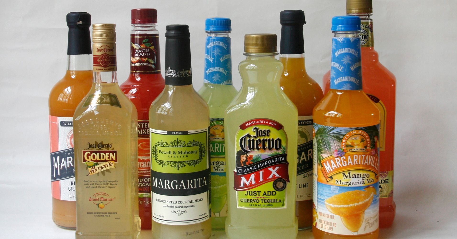The best and worst margarita mixes for lazy cocktail for Good tequila mixed drinks