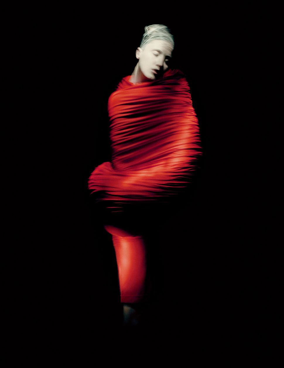 "Rei Kawakubo for Comme des Garçons, ""Body Meets Dress–Dress Meets Body,"" spring/summer 1997."