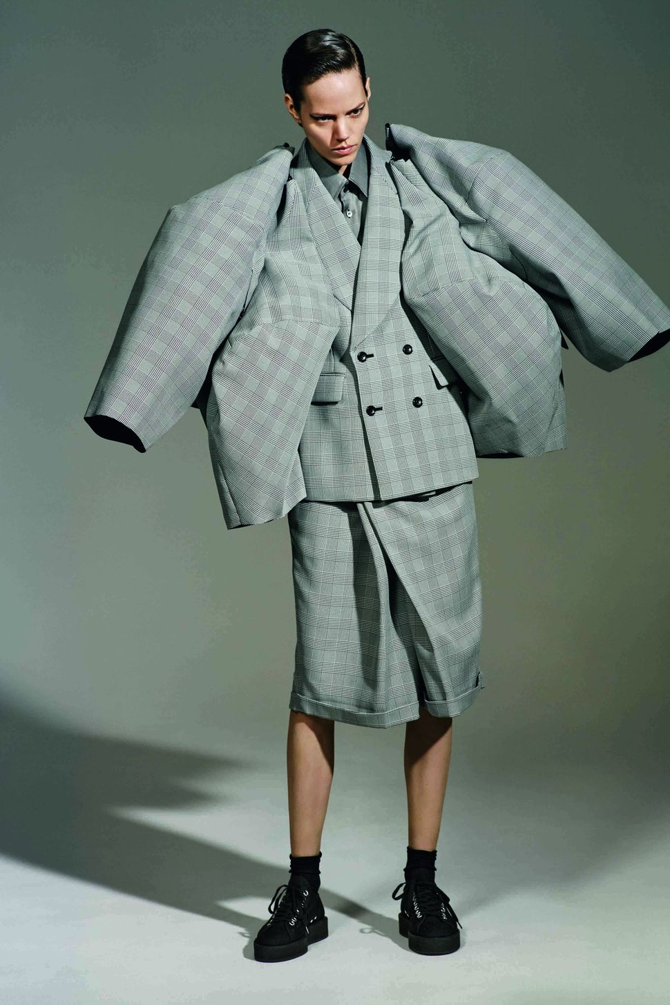 "Rei Kawakubo for Comme des Garçons, ""The Infinity of Tailoring,"" autumn/winter 2013–14."