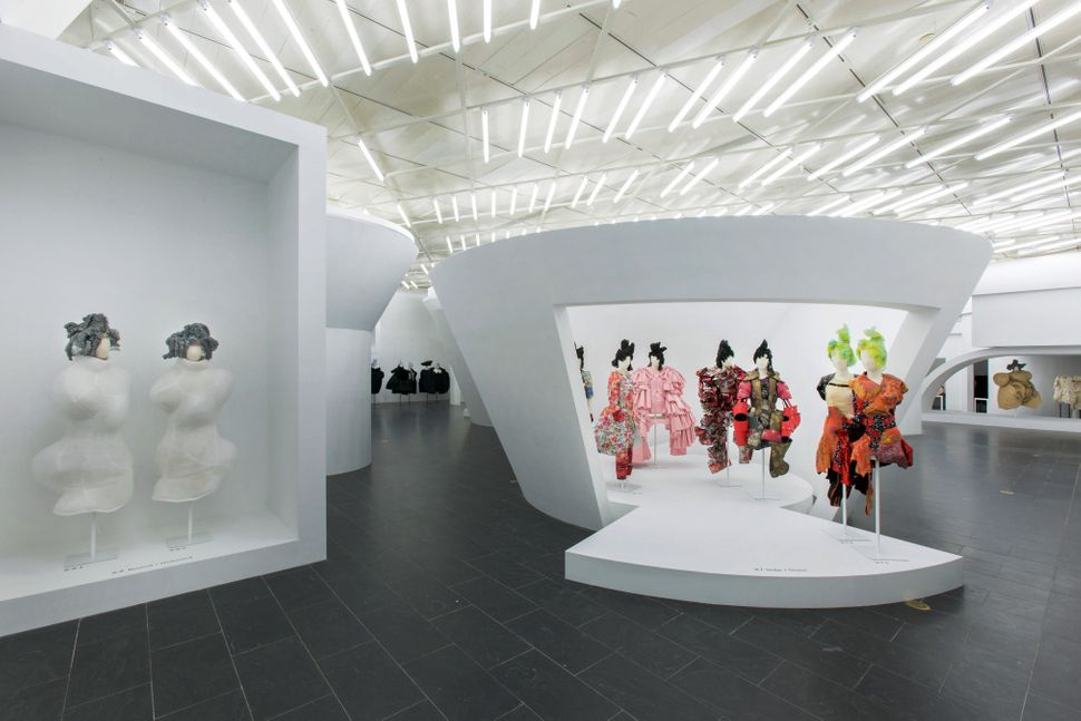 Rei Kawakubo's work at the Metropolitan Museum of Art.