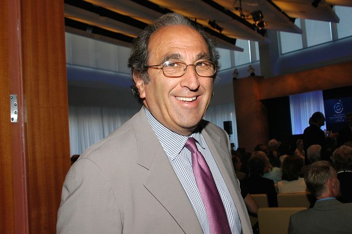 Andy Lack, who is now the head of MSNBC, is seen in a 2007 file photo.