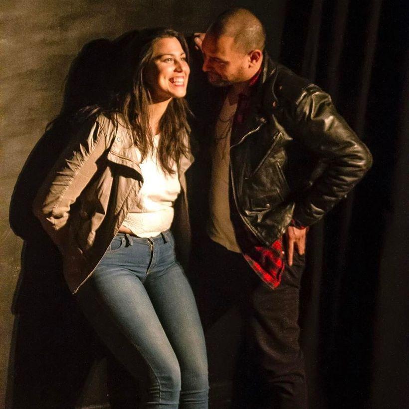 "Jacqui Rêgo as ""Leslie,: Tama Filiangaas ""Wyatt."" Photographer credit: Sadie Portman"