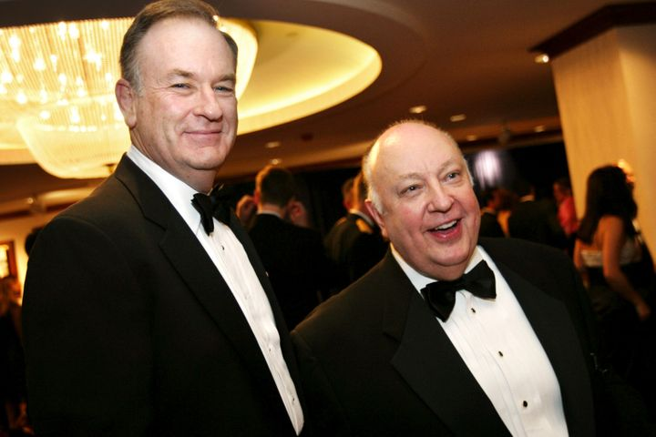 Host Bill O'Reilly and Chairman Roger Ailes both left Fox News in disgrace following sexual harassment scandals.