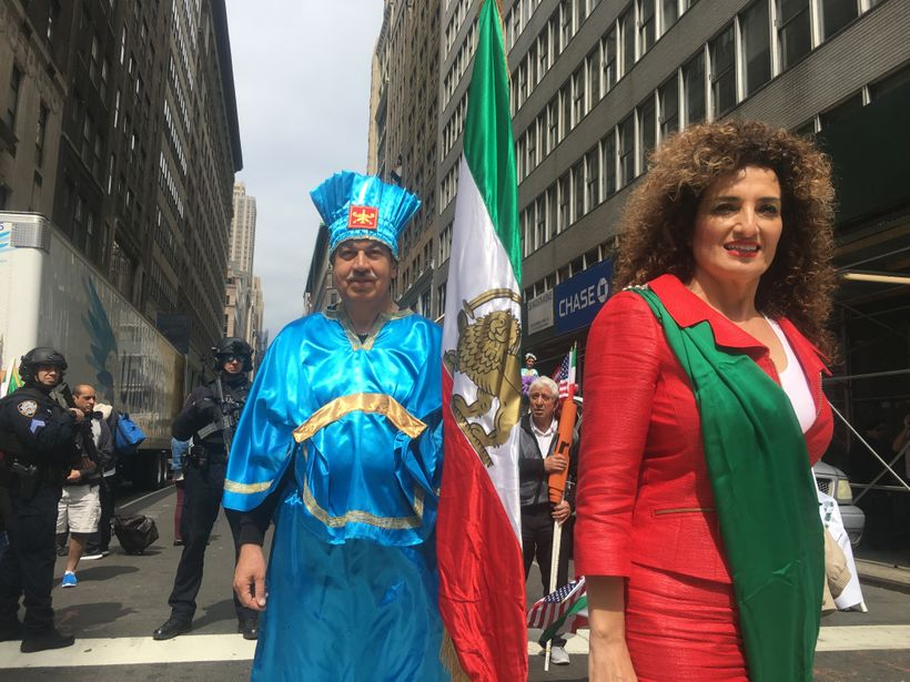 Betty Emamian, one of the Persian Parade's leading organizers.