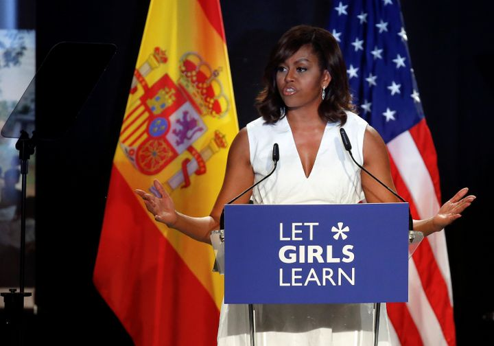 "Michelle Obama launched ""Let Girls Learn"" in 2015 to facilitate educational opportunities for girls around the world."