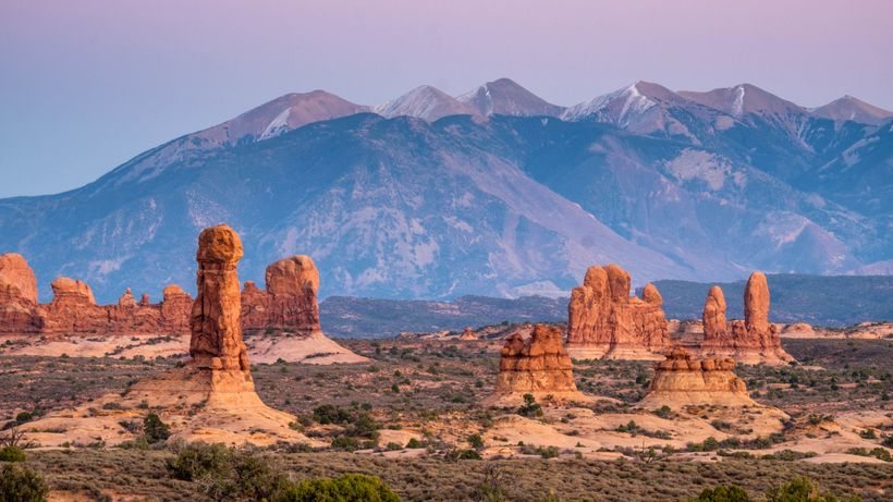 <em>Arches National Park has the highest density of sandstone arch formations in the world.... and there is so much more to t
