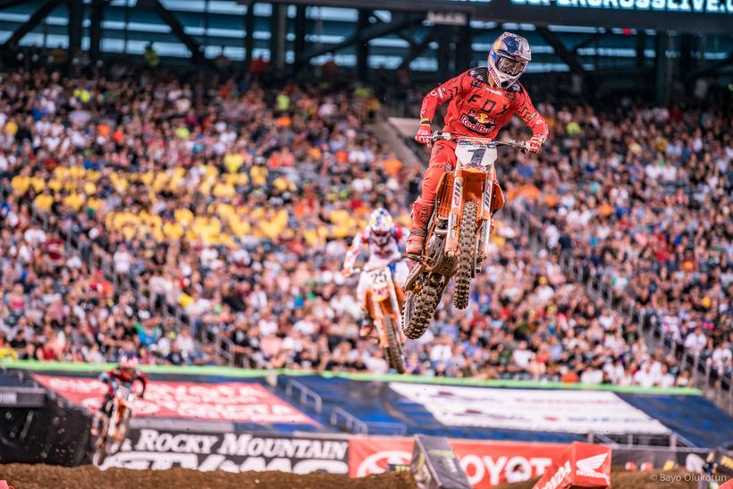Red Bull KTM's Ryan Dungey took a very crucial win in New Jersey.