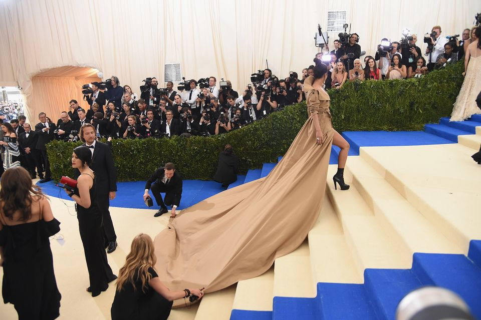 Exclusive Photos From The 2017 Met Gala You Won't Find Anywhere