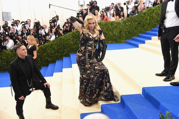 Jeremy Scott and Madonna