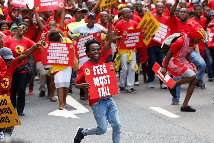 May Day march in Durban, South Africa