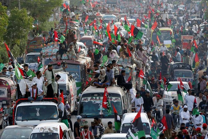 May Day march in Karachi, Pakistan