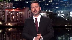 El presentador Jimmy Kimmel habla entre lágrimas sobre la operación de su