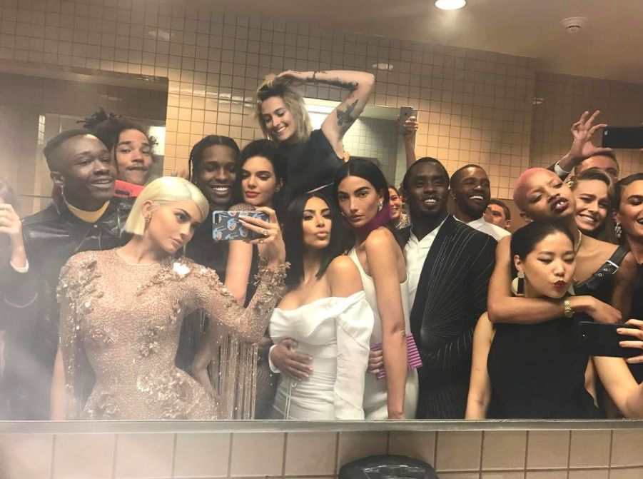 The Kardashians' Star-Studded Met Gala Snap Might Have Just Topped Ellen's Oscars
