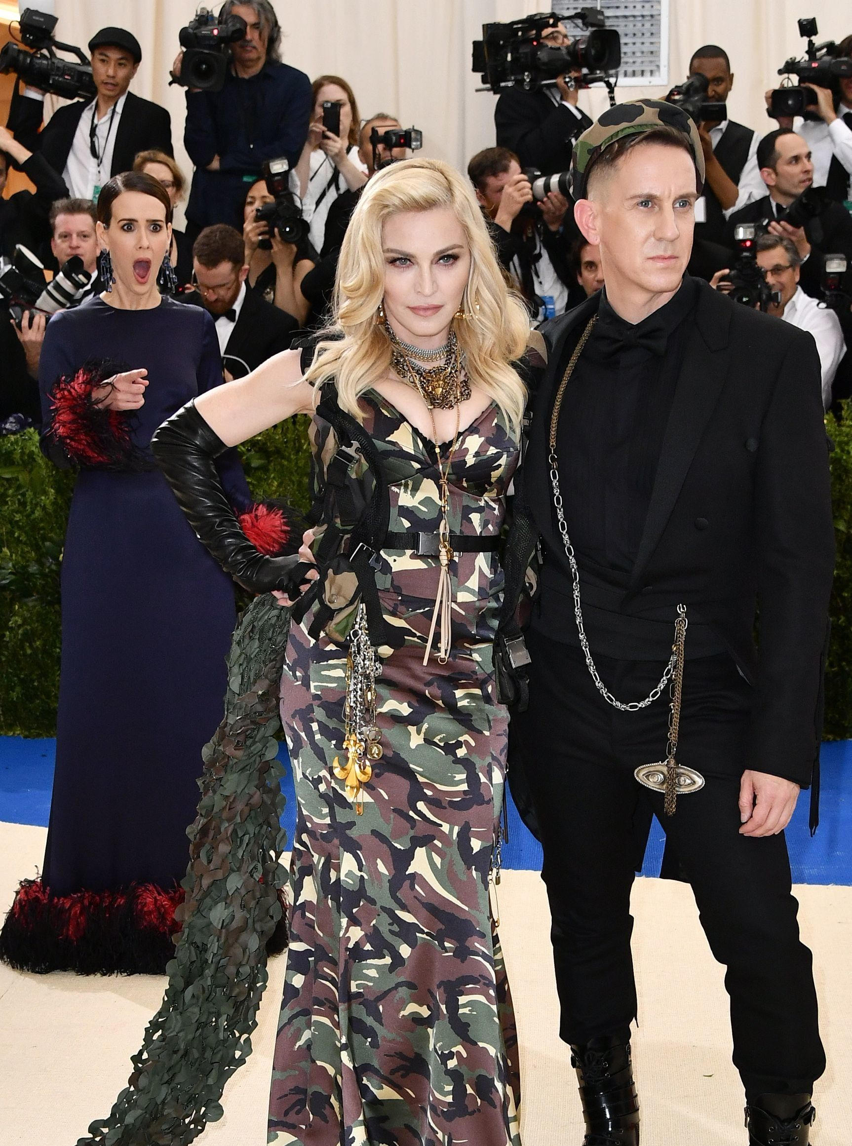Sarah Paulson's Reaction To Seeing Madonna At The Met Gala Was