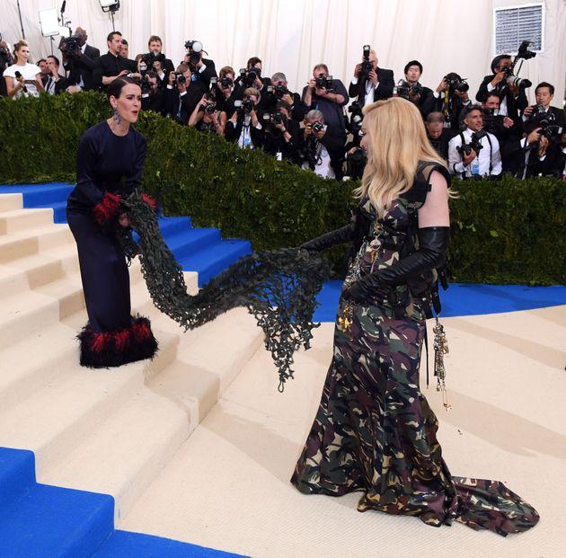 Madonna and Sarah