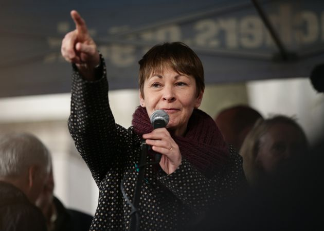 Caroline Lucas says the Greens will offer voters a chance to change their minds on