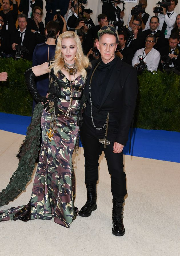 Met Gala 2017: Sarah Paulson's Reaction To Madonna's Combat Outfit Is All Of