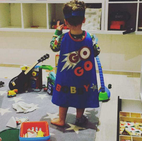 Kimberley Walsh's Son Doesn't Quite Understand How Hiding