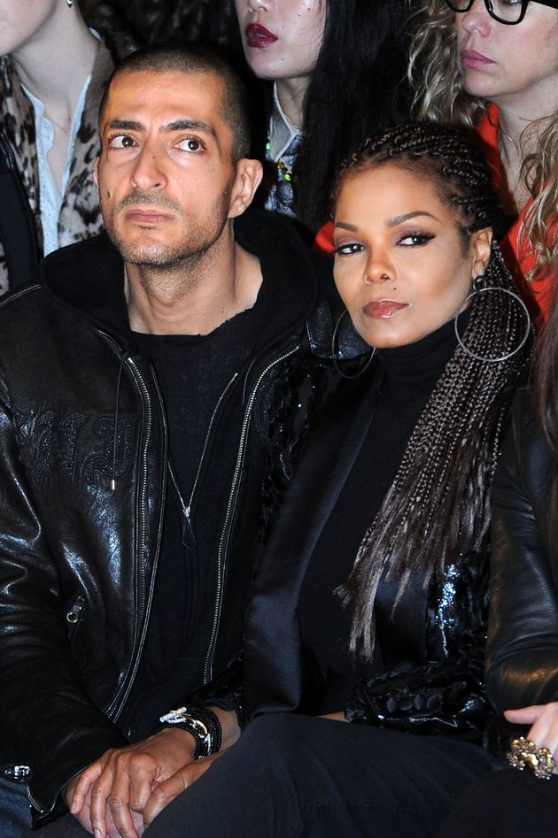 Wissam and Janet at a fashion show in