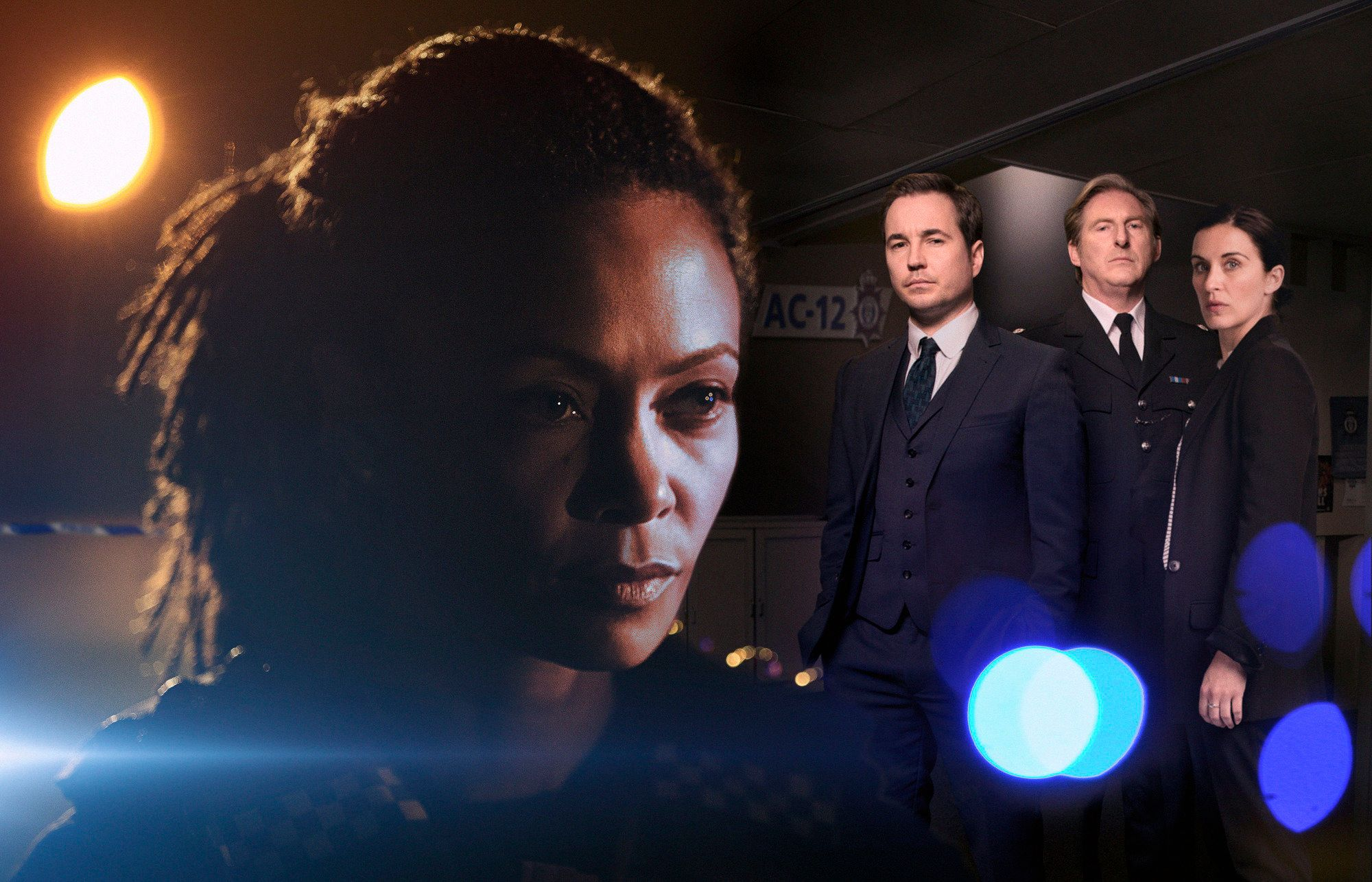 The cast of the fourth series of 'Line Of