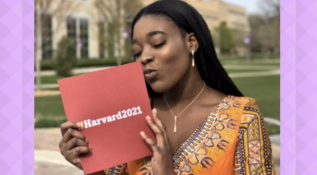 This Teen Took Her Harvard Acceptance Letter To Prom Instead Of A