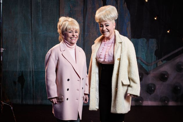 Barbara Windsor will appear as the ghost of her future self in 'Babs', alongside Jaime