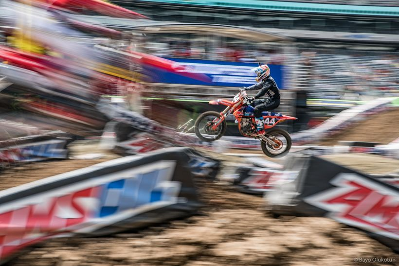 TLD/KTM rider Jordan Smith inherited the 250SX East Championship points lead after a penalty was passed down to Joey Savatgy.