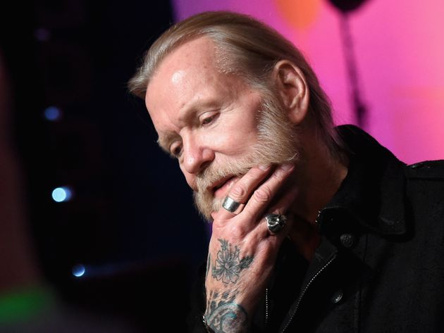 Gregg Allman speaks to the press on Dec. 11, 2015, in
