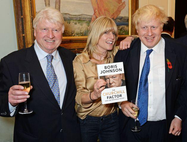 Left to Right: Stanley, Rachel and Boris Johnson in