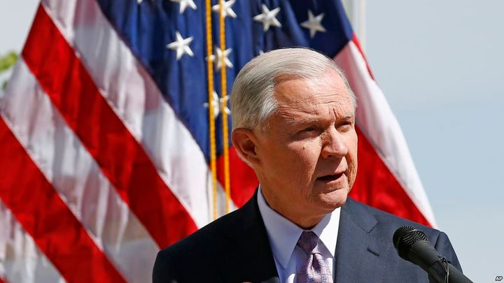Attorney General Jeff Sessions announces that the Department of Justice will hire 75 new immigration judges this year and str