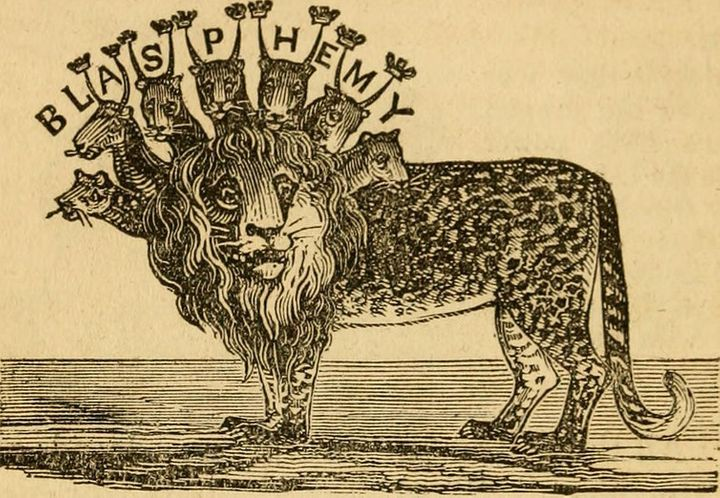 """Illustrations of prophecy (1840) <a href=""""https://www.flickr.com/photos/126377022@N07/14577102519"""">Internet Archive Book Imag"""