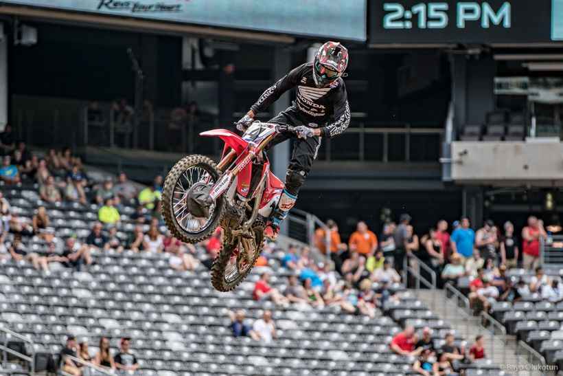 Team Honda's Cole Seely is widely regarded as one of the more technically skilled riders. Unfortunately he has not been able