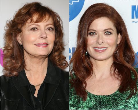 Susan Sarandon Goes In On 'Trumpian' Debra Messing For Being