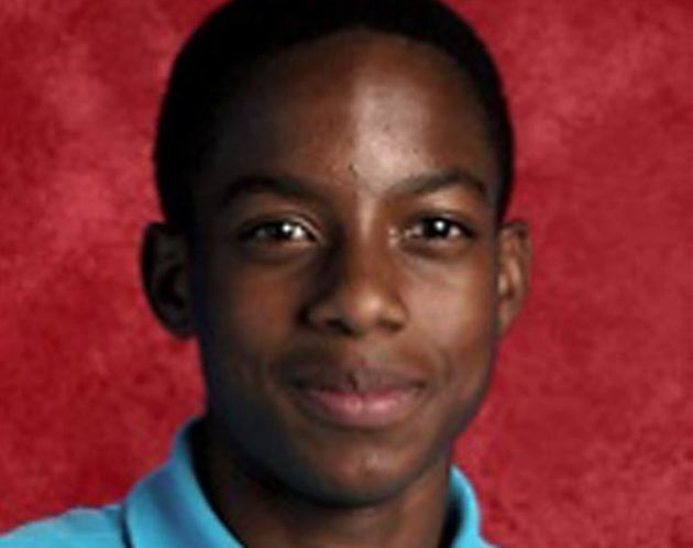 Jordan Edwards, 15, in an undated photo from Twitter, was killed by a single