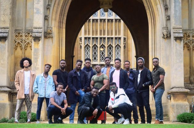 Black men at Cambridge University go viral