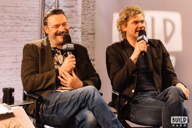 Julian Barratt and SimonFarnaby appeared on