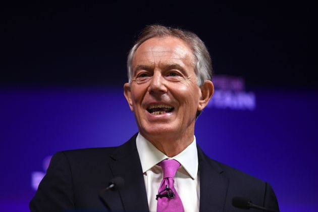 Tony Blair celebrated the 20th anniversary of his 1997 election landslide on
