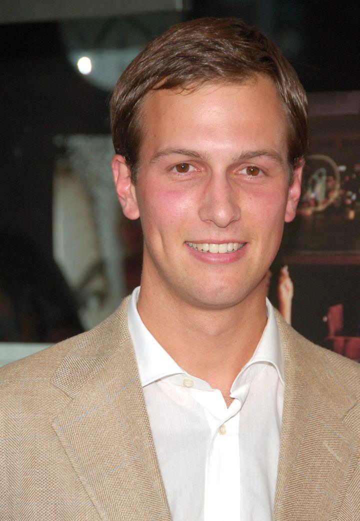 Jared Kushner, owner of The NY Observer during 'Factotum' New York Premiere.