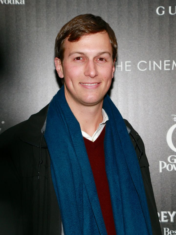 Jared Kushner attends the Gucci and The Cinema Society screening of 'Oz the Great and Powerful' at the DGA Theater on March 5, 2013 in New York City.