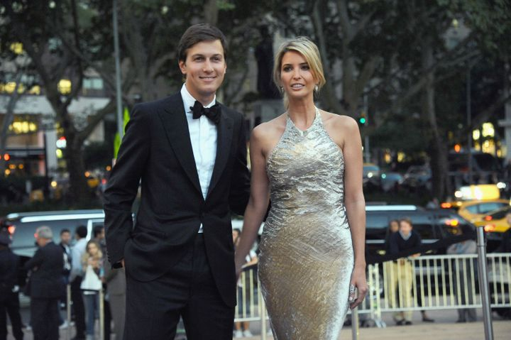 Jared Kushner and Ivanka Trump attend the New York City Ballet 2014 Fall Gala at David H. Koch Theater on Sept. 23, 2014 in New York City.